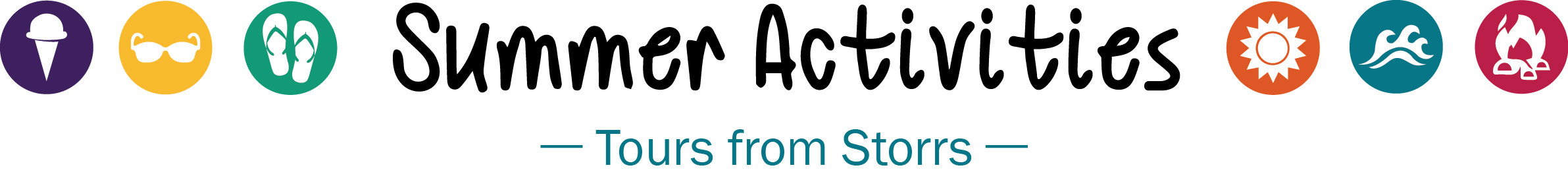 summer activities logo tours from storrs web